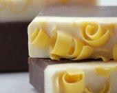 Vanilla Honey Latte Soap Handmade Cold Process, Vegan Friendly