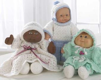 Baby Doll Wardrobe Crochet Pattern PDF-PA975