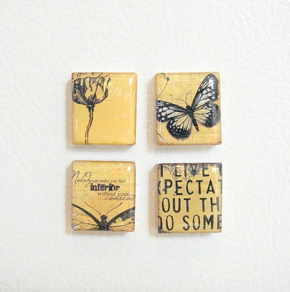 Items similar to inspirational words butterfly and tulip for Inspirational items for office