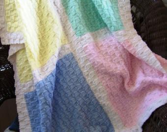 pastel dreams baby blanket