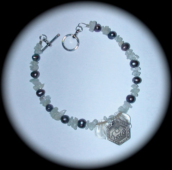 silver colored elephant charm bracelet of by intuitcrafts
