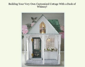 PDF-  A Shabby Chic Dollhouse by Cinderella Moments-PDF