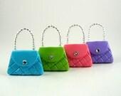 Purse fridge magnet, dressy couture, cute fridge magnets, fridge decoration, refrigerator magnets, friendship gift, girlfriend gift