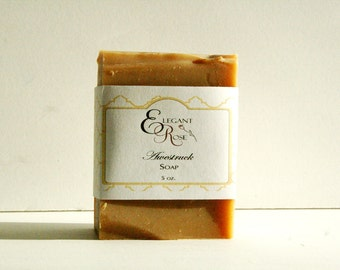 Awestruck Soap - Natural Soap - Essential Oil Soap - Spicy Floral Soap