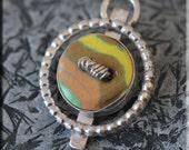 Ceramic Button Necklace