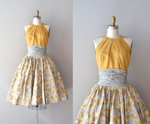 1950s dress silk 50s dress est vez for grenelle dress for Cocktail 50 nuances de grey
