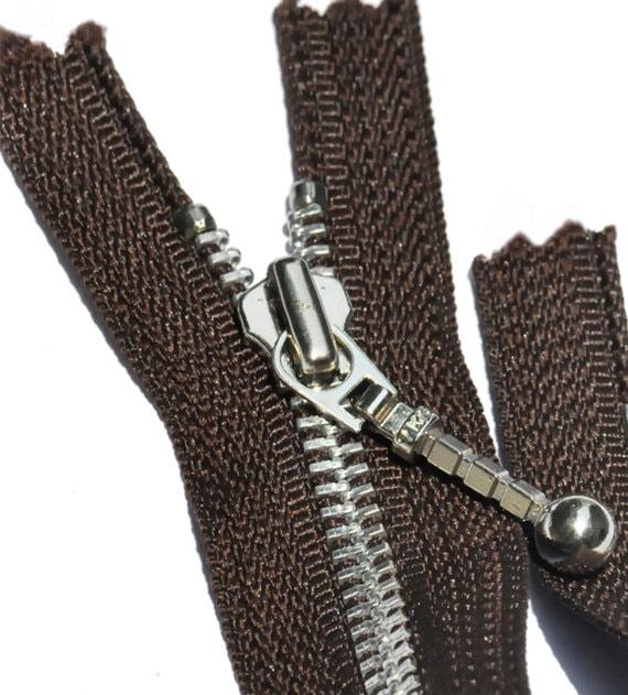 Separating Polyester Coil Zipper 16 - Light weight Light Grey