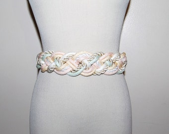 Sale.........Vintage Belt Pretty Pastel Wrap