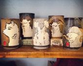 Fiber Animal Mug - Alpaca, Goat, Angora Bunny, and Sheep