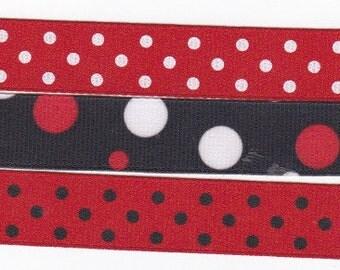 Disney Ribbon Assortment Set - 3 Styles - 3 Yards