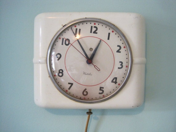 Vintage Electric Wall Clock 111