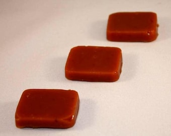 Apple Caramels 4 ounces Wrapped