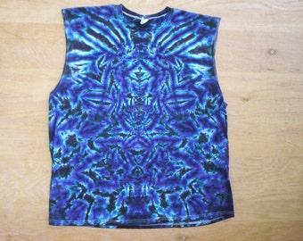 Tie Dye Sleeveless Shirt Size XL