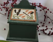 Punchneedle Dragonfly Wallbox
