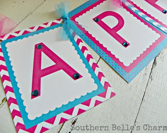 Cooking/Baking Banner...Set of 1 Happy Birthday Banner