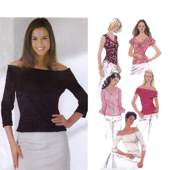 Sewing Patterns Tunic Tops Knit Tops Sewing Pattern