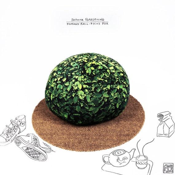 Topiary ball beanbag chair - ficus medium - Free shipping world-wide
