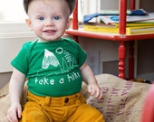 Take a Hike Graphic Baby Bodysuit By TrulySanctuary, Great Baby Shower Gift, First Birthday Gift Or Party Favor