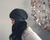 unisex slouch beanie.  eco friendly. vegan. PICK YOUR COLOR