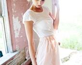 Blush Vintage Slip Skirt