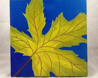 Leaf Series 14- Original Acrylic Painting on Canvas