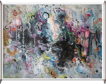 art, landscape abstract, painting seascape, abstract calligraphy, abstract seascape, abstract landscape, calligraphy art, acrylic art,