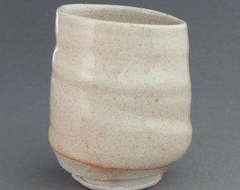 Wood fired yunomi (tea cup)
