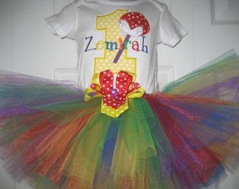 Boutique Lollipop Candy Circus first birthday tutu set
