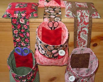 Thread Catcher With Pockets and Pincushion pdf Download