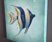 Angel Fish Gallery Wrapped Canvas Print Multiple Size Options
