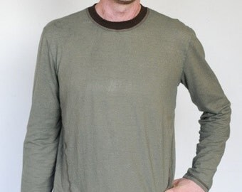 SALE!!!  Ridgeline LS Shirt / Hemp and Organic Cotton