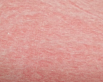 Vintage red Stretchy spandex lycra cotton fabric Q1018 sewing crafting costume making