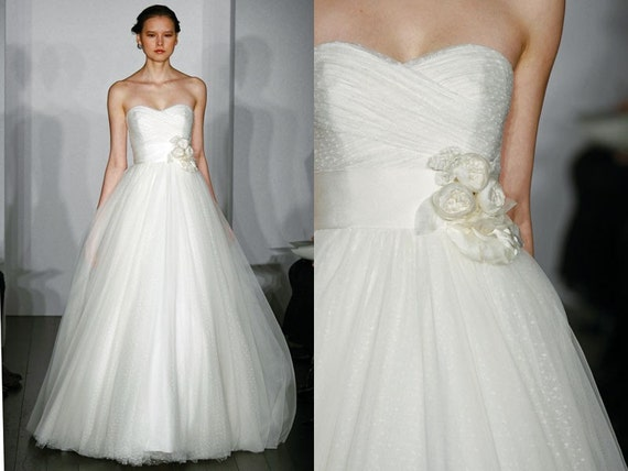 Reserved listing for Alex - Christos Desiree Inspired Wedding Dress