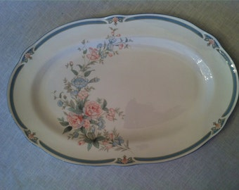 Brighton Springs Noritake China Platter