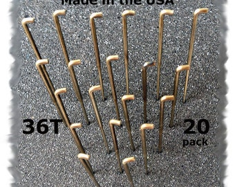 20 Needle Felting Needles Size 36T Made in the USA