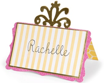 Sizzix Die - Place Card With Decorative Accent 2 - Dena Designs