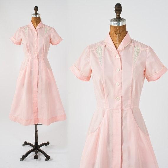 Pink Waitress Uniform 93
