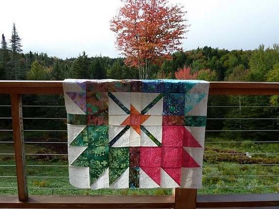 Quilt on Etsy, Golden Daisy Quilts