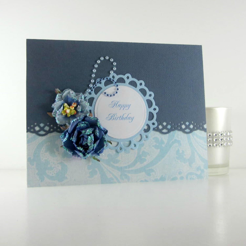 Happy Birthday Card Feminine Elegant Birthday Card For