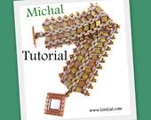 Michal Superduo-Tila Bracelet PDF Tutorial