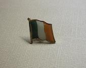 St Patrick's Day IRISH Ireland Flag Lapel Pin Irish Tri/Color Flag Celtic