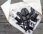 feathers & brewz bandana