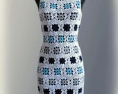 Dress. Crochet Pattern No 229