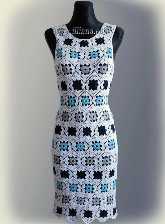 Dress. Crochet Pattern No 229