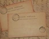 50 Vintage Post Card Wedding Place Cards - Wedding  Escort Cards - Wedding Placecards