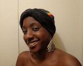 Rasta Girl Can Dance, Crochet African Headwrap