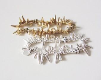 Petite Spike Bracelet Set