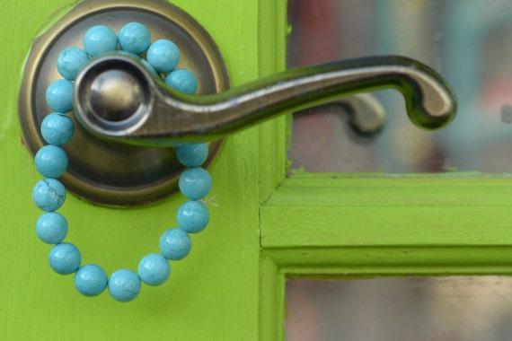 Jewelry Bracelet Beadwork - Turquoise Bracelet - Stackable Bracelets