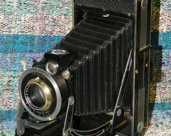 Camera Kodak Dakar No. 1 Vintage Folding Film Photography Photographer Art CrabbyCats Crabby Cats