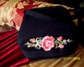 Victorian Embroidered Purse Handbag